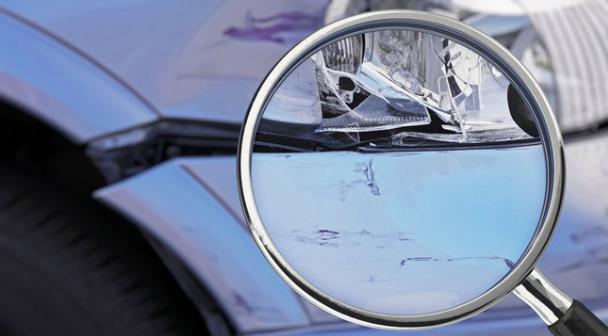 Origine dommages de carrosserie